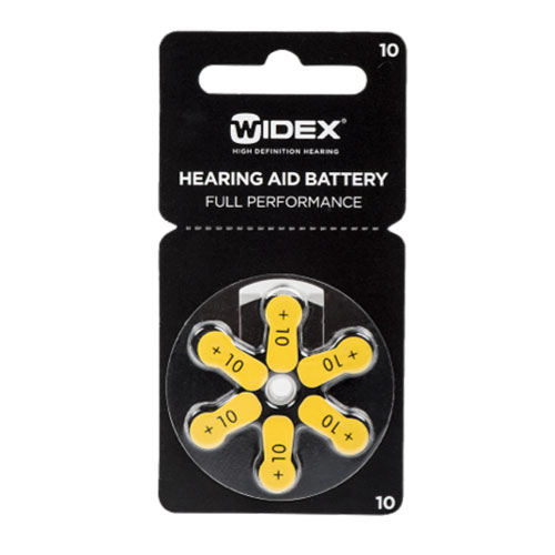 Great value on Widex zinc air hearing aids batteries size ...