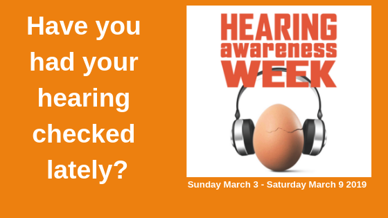 Hearing Awareness Week and World Hearing Day: a reminder to take care of your hearing health